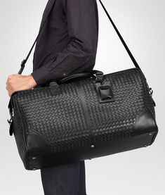 Bottega Veneta Intrecciato Duffel Bag