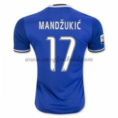 Fodboldtrøjer Series A Juventus 2016-17 Mandzukic 17 Udebanetrøje