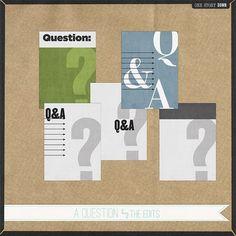 Ask & You Shall Receive - Write. Click. Scrapbook.