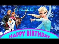 Happy birthday song, Disney characters...would be cute for ...