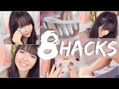 8 HACKS mit Babypuder | ViktoriaSarina - YouTube