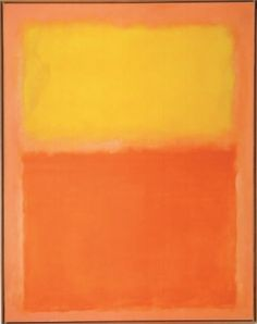 Mark Rothko- Orange and Yellow
