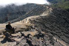 Crater rim Ijen Crater