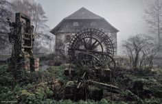 Kilian Schönberger is a photographer from Germany, but his childhood was full of those misty landscapes which later inspired him to make a Brothers Grimm's Homeland series. In this series, he captures all the spooky ambient of the time.  http://www.versbalita.com/2015/03/brothers-grimm-fairy-tales-come-to-life.html