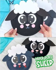 Paper Plate Sheep Craft This easy paper plate sheep craft for kids is a fun craft idea for spring or Easter! Download the free printable template and make with preschool, kindergarten and elementary aged children at home, in the classroom or for Sunday school!   #simpleeverydaymom #sheepcrafts #kidscrafts<br> Make this cute and easy sheep paper plate craft with the kids this Easter or spring! Download the free printable template and make at home or at school! Kids Crafts, Sheep Crafts, Animal Crafts For Kids, Winter Crafts For Kids, Toddler Crafts, Spring Crafts, Home Crafts, Arts And Crafts, Preschool Easter Crafts
