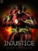 INjustice Flash poster by NHKkyo
