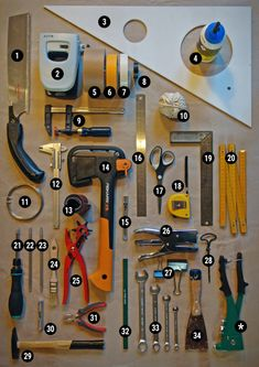 tools - set for kids
