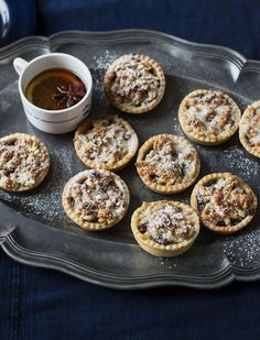 Mary Berry's mince pies - Mary Berry's quick Christmassy bites are perfect for the festive season – grating marzipan on t - Xmas Food, Christmas Cooking, Mary Berry Mince Pies, Pie Recipes, Sweet Recipes, Nutella Recipes, Marzipan, All Bran, British Baking