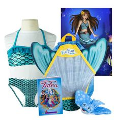 Mariana's Tidal Teal Mermaid Tail for Kids & Adults|By Fin Fun