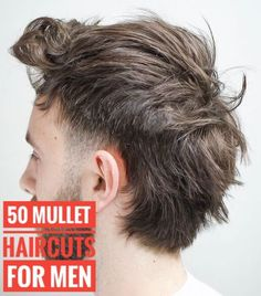 50 Mullet Haircuts for Men Best Picture For Haircut Types for girls For Your Taste You are looking f Mens Mullet, Mullet Fade, Short Mullet, Mullet Haircut, Mullet Hairstyle, Mohawk Hairstyles Men, Haircuts For Men, Men's Haircuts, Bridal Hairstyles