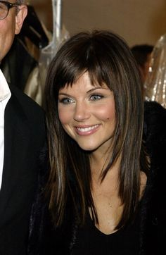 tiffani thiessen bangs | Тиффани-Амбер Тиссен (Tiffani-Amber Thiessen)