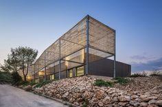 PAN architecture - jean luc fugier & mathieu barbier bouvet, Luc Boegly · École Nationale Supérieure d'Architecture in Marseille (ENSA-M) · Divisare