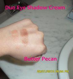 elf Duo cream eyeshadow in Butter Pecan