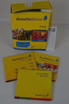 #Rosetta#Stone#Japanese#Level1#Complete#PC#MAC #RosettaStone#Learning#Language