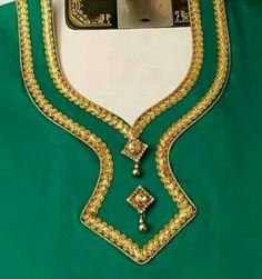 Pushpa bhabhi green with blue add on, Suneeta bua green Chudithar Neck Designs, Neck Designs For Suits, Neckline Designs, Dress Neck Designs, Salwar Suit Neck Designs, Kurta Neck Design, Saree Blouse Neck Designs, Salwar Designs, Simple Blouse Designs