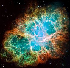 Crab Nebula  1 of 12 from New treasures from outer space as Hubble shoots up a storm