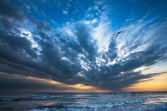 Sunset on Black Sea