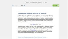 https://www.academia.edu/8400859/Teeth_Whitening_Melbourne cosmetic dentist melbourne Are available look into the website!