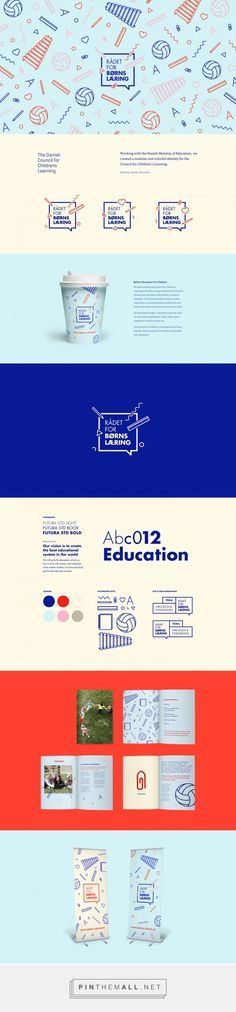 The Danish Council for Childrens Learning on Behance - created via https://pinthemall.net