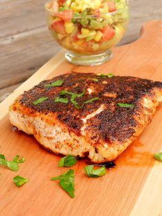 Blackened Salmon: very good, I made this tonight. I would definitely make it again!