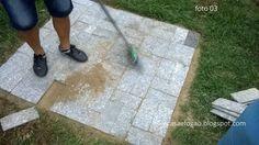 Casa e Fogão: Mesa para o quintal - DIY (Faça Você Mesmo)