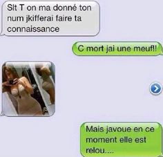 Discover recipes, home ideas, style inspiration and other ideas to try. Sms Jokes, Funny Jokes, Hilarious, Funny French, Joke Of The Day, Image Fun, Lol, Humor Grafico, Funny Messages