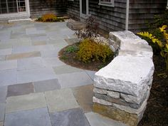 Full color bluestone - pattern shaped - great example of it.