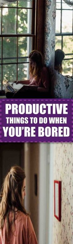 17 Productive Things to Do at Home When You're Bored | Wondering what you should do at home when you're feeling bored? Check out this list of seventeen items the next time boredom strikes at home!