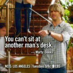 #NCISLA - #MartyDeeks