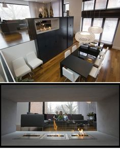 yh2 refreshed a 1959 split level home