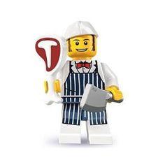 Lego Butcher Minifigure, Series 6 (2012)