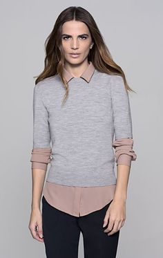 Symon Evian Stretch Sweater - Theory.com