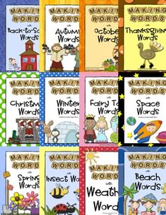 "Supplement your phonics instruction with this ""Making Words Bundle  {50+ Word-Building Phonics Lessons}""  This download includes all the ""Making Words"" lessons in my store... 334 pages bundled into one item... enough lessons for each week of the year!  Save 66% when you buy them all together.  ($)"