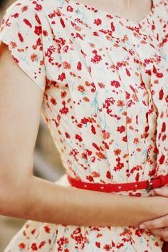 i love the floral dresses