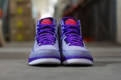 """593420e91a7581 The Air Jordan II Retro """"Iron Purple"""" Is The Second Colorway Of The Air"""