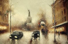 Oil Painting by Russian Artist  Igor Medvedev