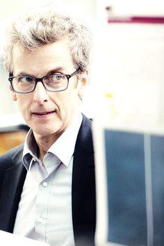 Peter Capaldi - glasses