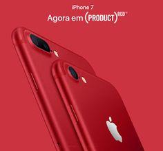 Mundo dos Smartphone: Lançamento iPhone 7 Red - Edição Limitada