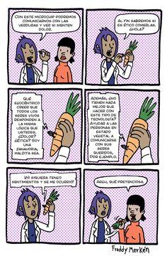 Esto es lo que piensan las zanahorias