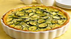 Whether you have a bounty of zucchini from your garden or you pick up a few from the supermarket, this savory pie is a winner!