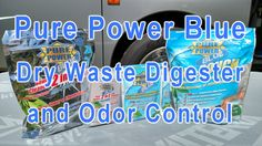 Pure Power Blue Dry Drop-In Packets for RV Holding Tanks