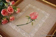 Ручные вещи: Роза/ Rose
