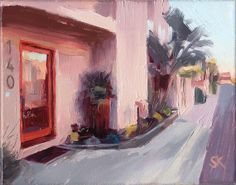 CUSTOM original oil painting your home - 8 x 10 by Mad About  Hue