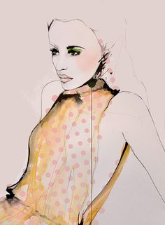 """Verge"" Fashion Illustration by Leigh Viner"