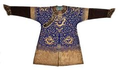 Chinese imperial robe.