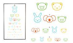 Oogtest voor kinderen met herkenning van leuke dieren Little Pumpkin, Human Body, Elementary Schools, The Doctor, Preschool, Arts And Crafts, Teaching, Kids, Tools