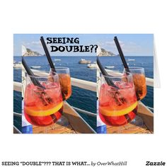 """SEEING """"DOUBLE""""??? THAT IS WHAT HAPPENS AT **50**  THIS CARD CAN BE CUSTOMIZED TO """"YOUR NEEDS"""" LIKE THE """"AGE"""" OR THE """"VERSE"""" IN JUST SECONDS!!!"""