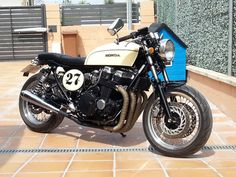 Honda CB750 1992 #CafeRacer #Desideratum