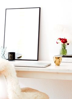 home decor, interior design, bloggers home, not your standard, berlin fashion blogger, desk ideas, home decor ideas,