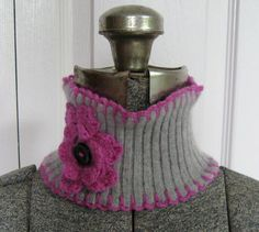 Cashmere Headband / Neck warmer made from by heartfeltbaby, $25.00